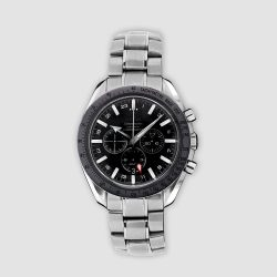 Stainless steel Omega Speedmaster Broad Arrow GMT