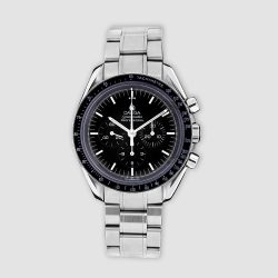 Stainless steel Omega Speedmaster 'Moonwatch'