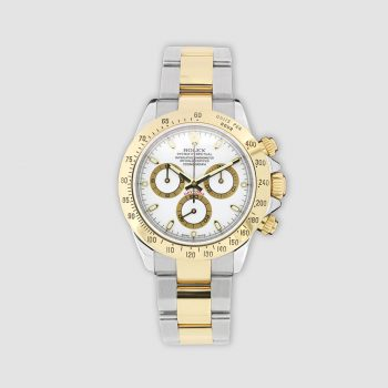 Stainless steel and 18ct gold Rolex Cosmograph Daytona