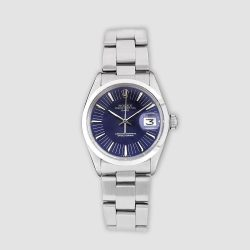 Stainless steel Vintage Rolex Oyster Perpetual Date