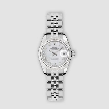 Stainless steel Rolex Lady Datejust