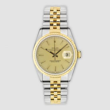 Stainless steel and 18ct gold Rolex Datejust