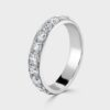 11 Stone diamond eternity ring