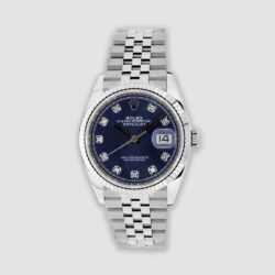 Rolex 36mm Datejust with diamonds