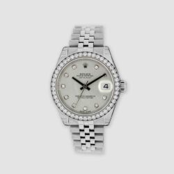 31mm datejust with diamonds
