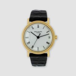 Patek Phillipe Calatrava strap watch
