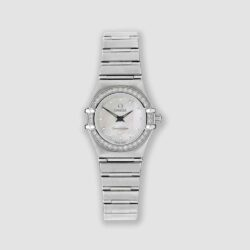 Omega diamond Constellation watch