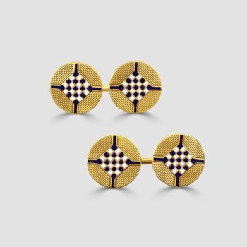 18ct French marked cufflinks