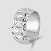 Diamond milled wide band