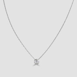 Diamond pendant 0.50ct