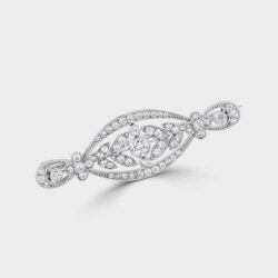 Diamond Lozenge brooch