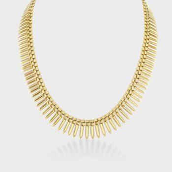 18ct Fringe necklace