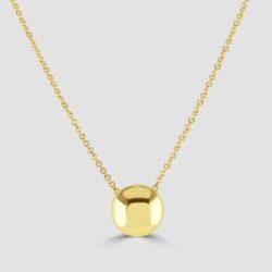 18ct yellow gold pendant