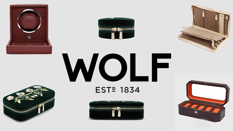 WOLF boxes, watch winders and travel accessories