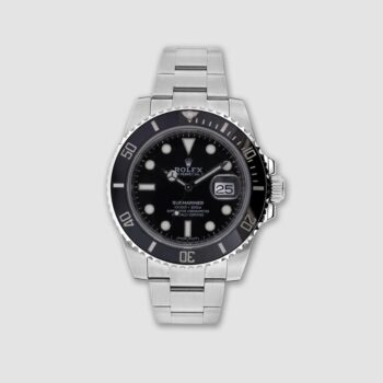 Rolex steel Submariner date