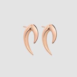 Rose Gold Vermeil Talon Earrings