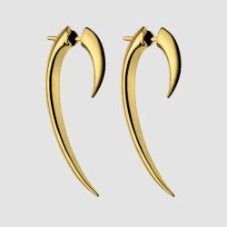 Yellow Gold Vermeil Hook Earrings