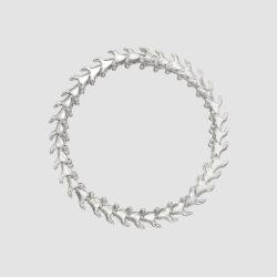 Serpent Trace Silver Slim Bracelet